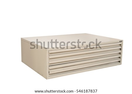 file cabinet on white background, Plastic File Cabinet