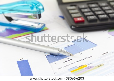 Volatile Finance Graph Increasing Decreasing Line Stock Photo