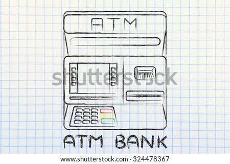 finance and banking services: design of an atm bank