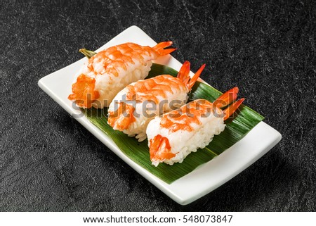 how to prepare prawns for sushi