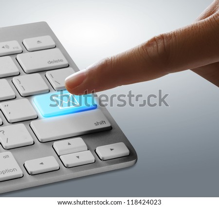 Fingers to keyboard email