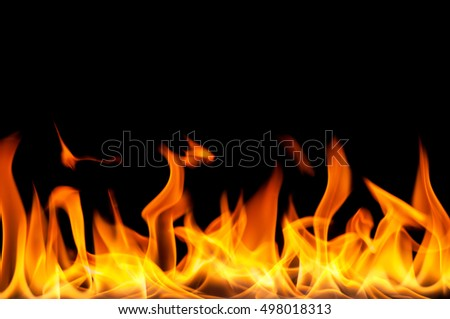 Fire flame texture background. Can type text in the image.