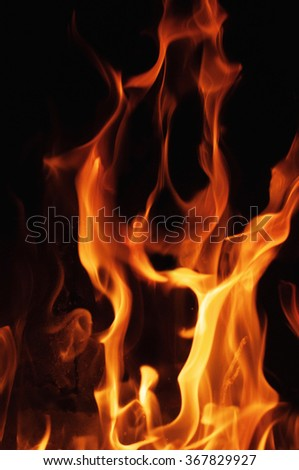 Flames Fire Background Stock Photo 9784624 Shutterstock