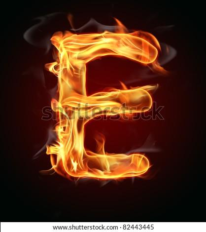 Как из букв сделать огонь 710