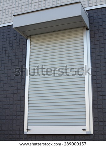 Fire shutter of housing