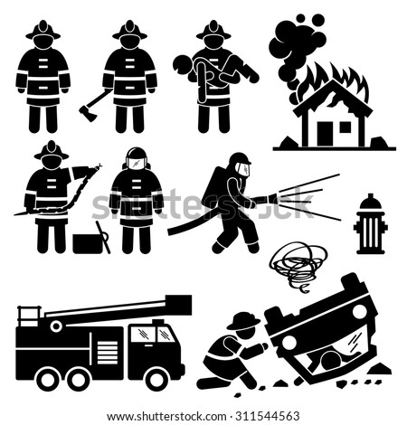 Firefighter caketoppers further Tattoos Piercings additionally Stencil likewise 204973028 moreover Fire department stickers. on firefighting badge