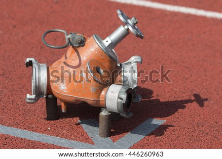 firefighting sport equipment