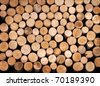 Firewood. - stock photo
