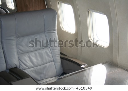 first class air travel seat