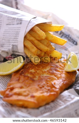 Fish and chips takeout