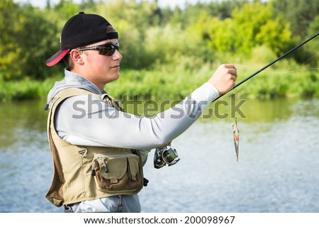 Fisherman Catch fish