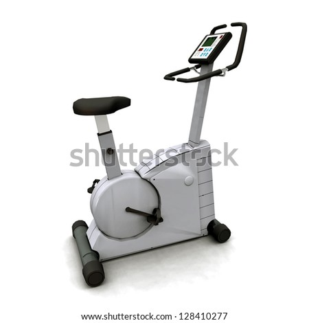 Fitness Device Computer generated 3D illustration
