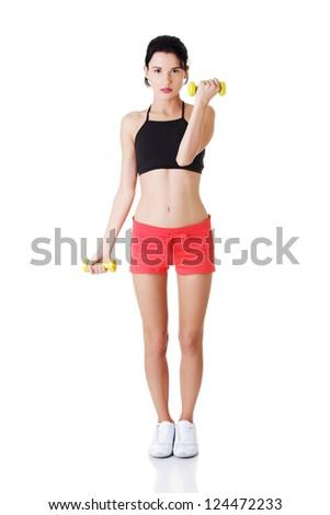 little gymnast girl character stock vector image 59443253