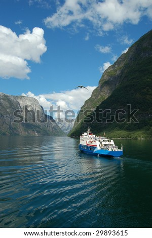 Fjord cruise in Norway