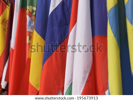 Flags of the member states of the European Union
