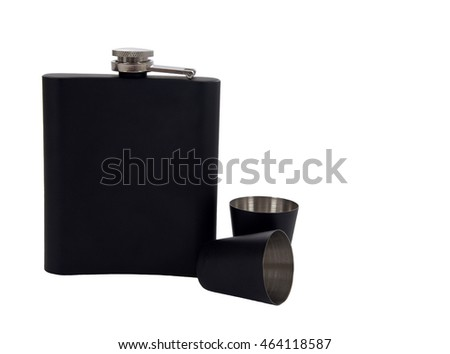 Flask for whiskey