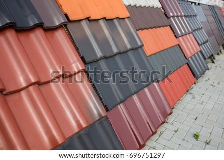 Steel box girder stock photo 301144172 shutterstock for Flexible roofing material