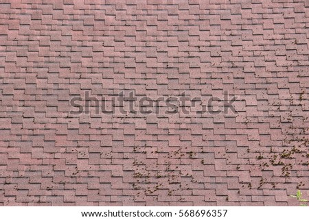 Black pipe tap processed bitumen polymer stock photo for Polymer roofing shingles
