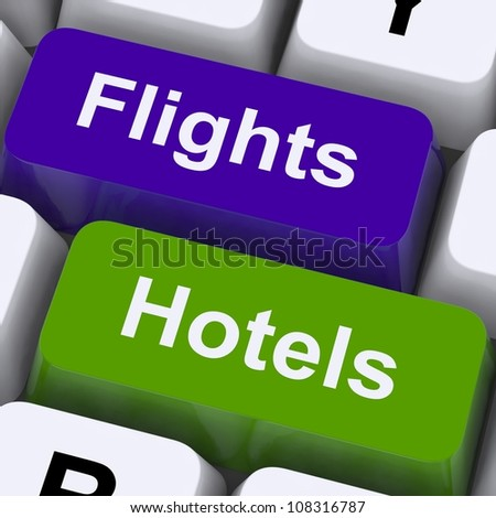 Flights And Hotel Keys For Overseas Vacations Booked Online