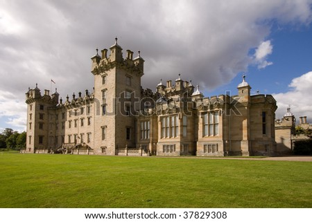 Floors Castle near Kelso in the Scottish Borders has been the seat of the Roxburghes since 1721. The building was remodelled in the 19th century by the leading Edinburgh architect, William Playfair.