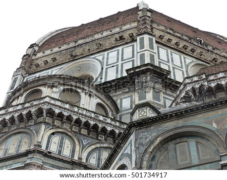 Florence / Florence Cathedral / Picture showing Florence Cathedral, taken in April 2015.