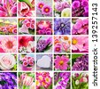 Flowers and decoration - stock photo