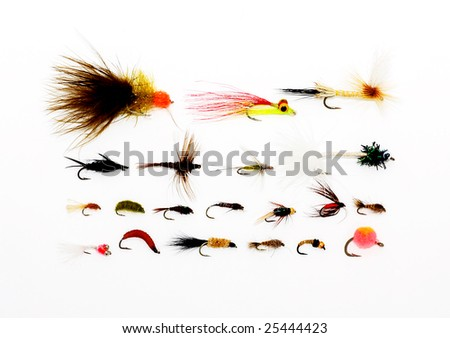 Fly fishing background