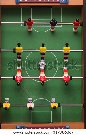 foosball. table football