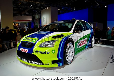 Ford Focus WRC at Motorshow Bologna 2005