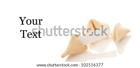 Fortune Cookies and Blank Paper