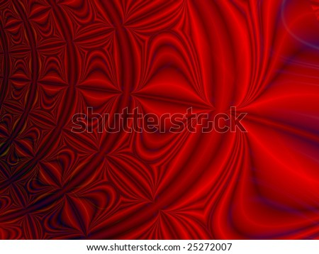 Fractal rendition of abstract back ground