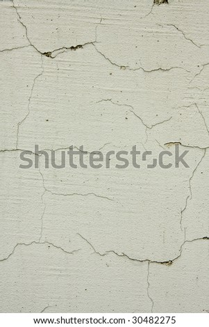 Fragment of wall with crack
