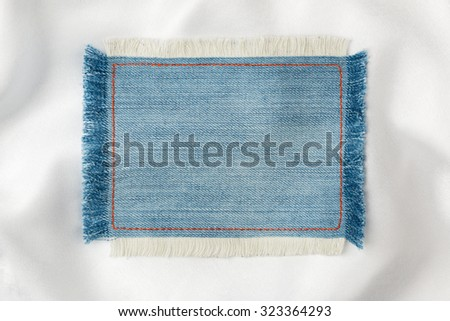 Vintage blue grey flower pattern stack stock photo for Space made of fabric