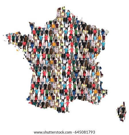 Australia map multicultural group young people stock photo - Office francais immigration integration ...