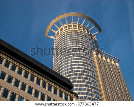 Frankfurt am Main is the largest city in the German state of Hessen and the fifth-largest city in Germany