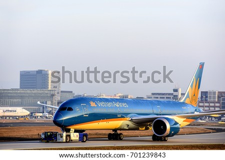 flag carrier and vietnam airlines Perth, australia -- on july 29, loudspeakers and screens for national flag carrier vietnam airlines were hijacked in two major vietnam airports in the cities of hanoi and ho chi minh city .