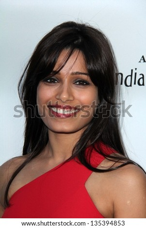 "Freida Pinto at the ""Gangs of Wasseypur"" Premiere, Arclight, Hollywood, CA 04-09-13"
