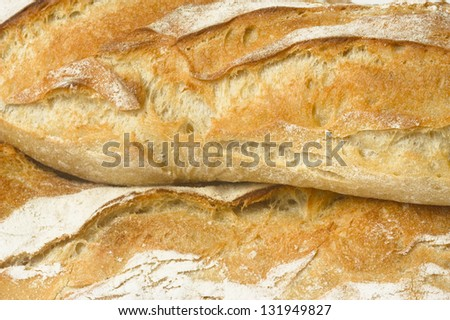 French baguettes essential to all the meals