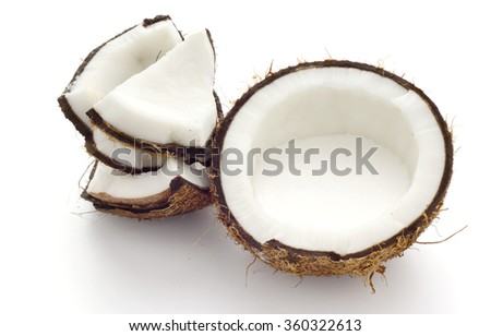 Fresh Suntan in Half Coconut Shell; non sharpen
