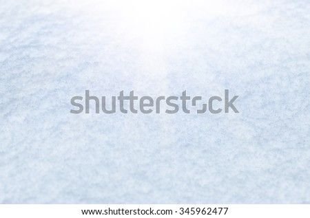 Freshly fallen snow in winter white first background close