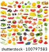 fruits and vegetable - stock photo