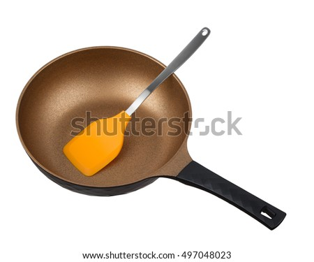 frying pan isolated