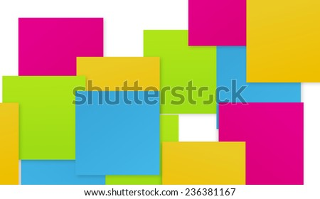 Full color abstract interaction
