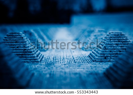 Full frame shot of patterned background in blue tone.