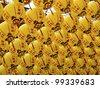 funny view of asia traditional religious lanterns - stock photo