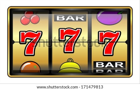 Gambling 777 Slot Machine. Jackpot, casino