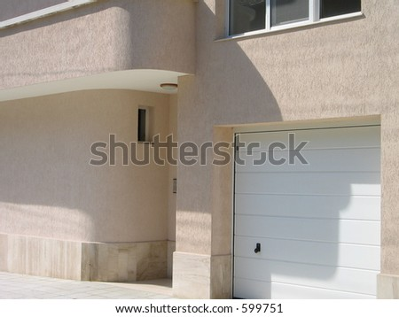 garage of a house