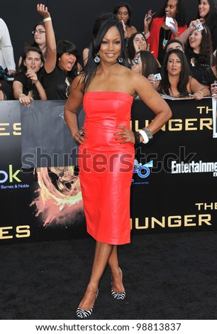 "Garcelle Beauvais-Nilon at the world premiere of ""The Hunger Games"" at the Nokia Theatre L.A. Live. March 12, 2012  Los Angeles, CA Picture: Paul Smith / Featureflash"