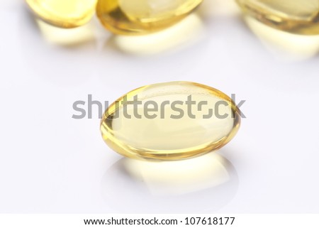Garlic oil capsules/pills