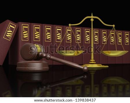 Burden Proof Legal Law Concept Image Stock Photo 552285421